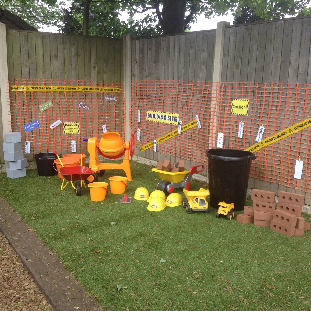 Look at our new construction area! — St Aidan\'s Day Nursery
