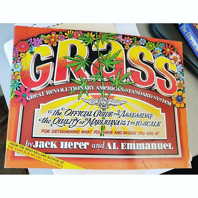 I visited Dr. Armaline at his SJSU office last Friday and enjoyed looking at some of the books he had on his desk. One of them lo and behold, is a book by the late Jack Herer, and it is autographed at that.  I'm incredibly grateful for the opportunity to work with Dr. Armaline, it makes all the difference in the world when professionals participating in the implementation of our industry,a professor in this case, have a personal relationship with the plant. I've observed that it has a humanizing effect on whichever task is at hand and has time and again improved the trajectory of our work.  Cannabis culture lives.  #jackherer #ganjier