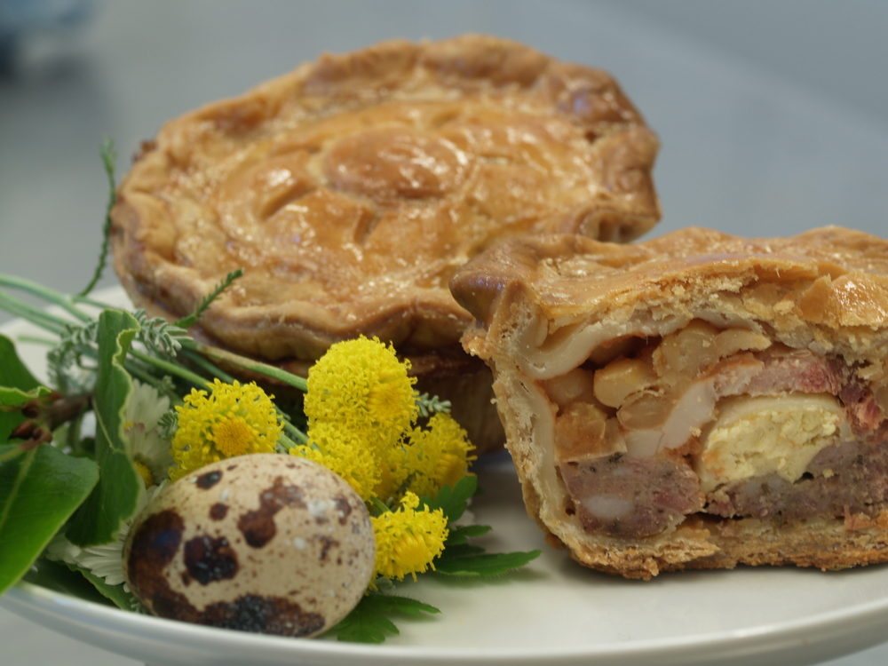 All Day Breakfast pork pie