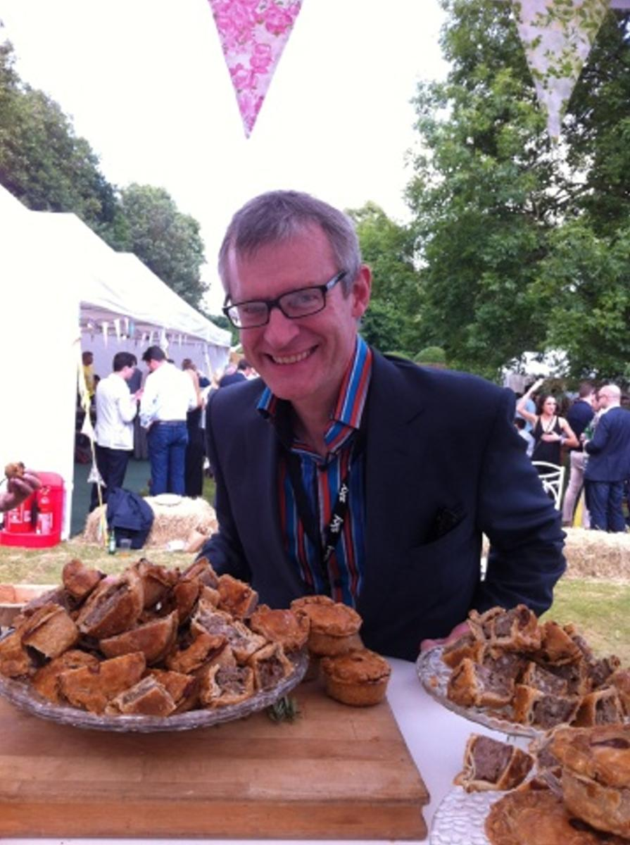 Jeremy Vine enjoys Brays Cottage Pork Pies