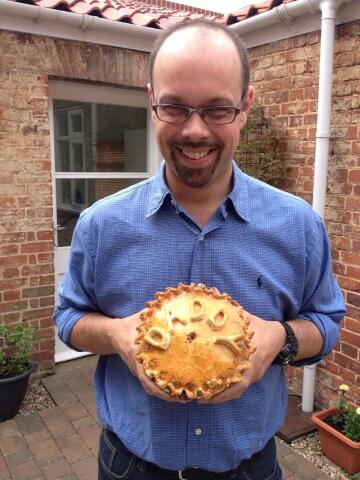 Dad pork pie.  Very popular as a father's day gift