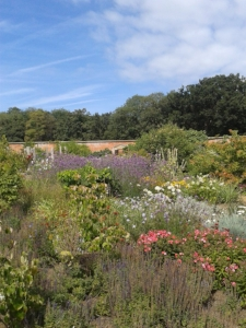 The walled gardens in full glory