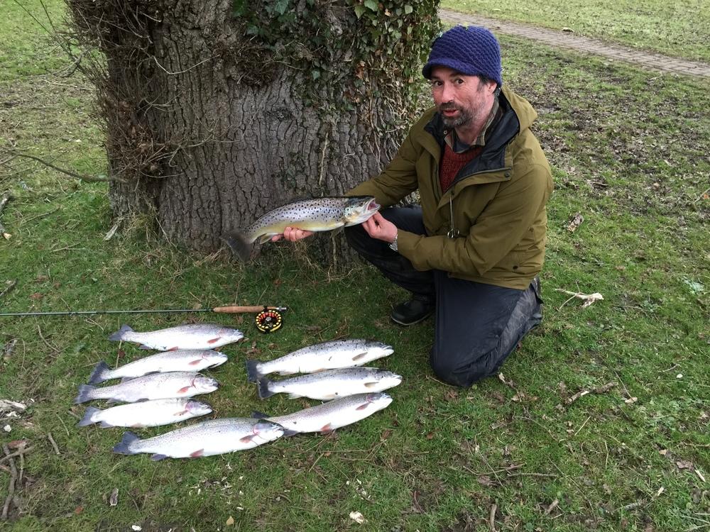 Wonderful March Fish at Blagdon with Alex
