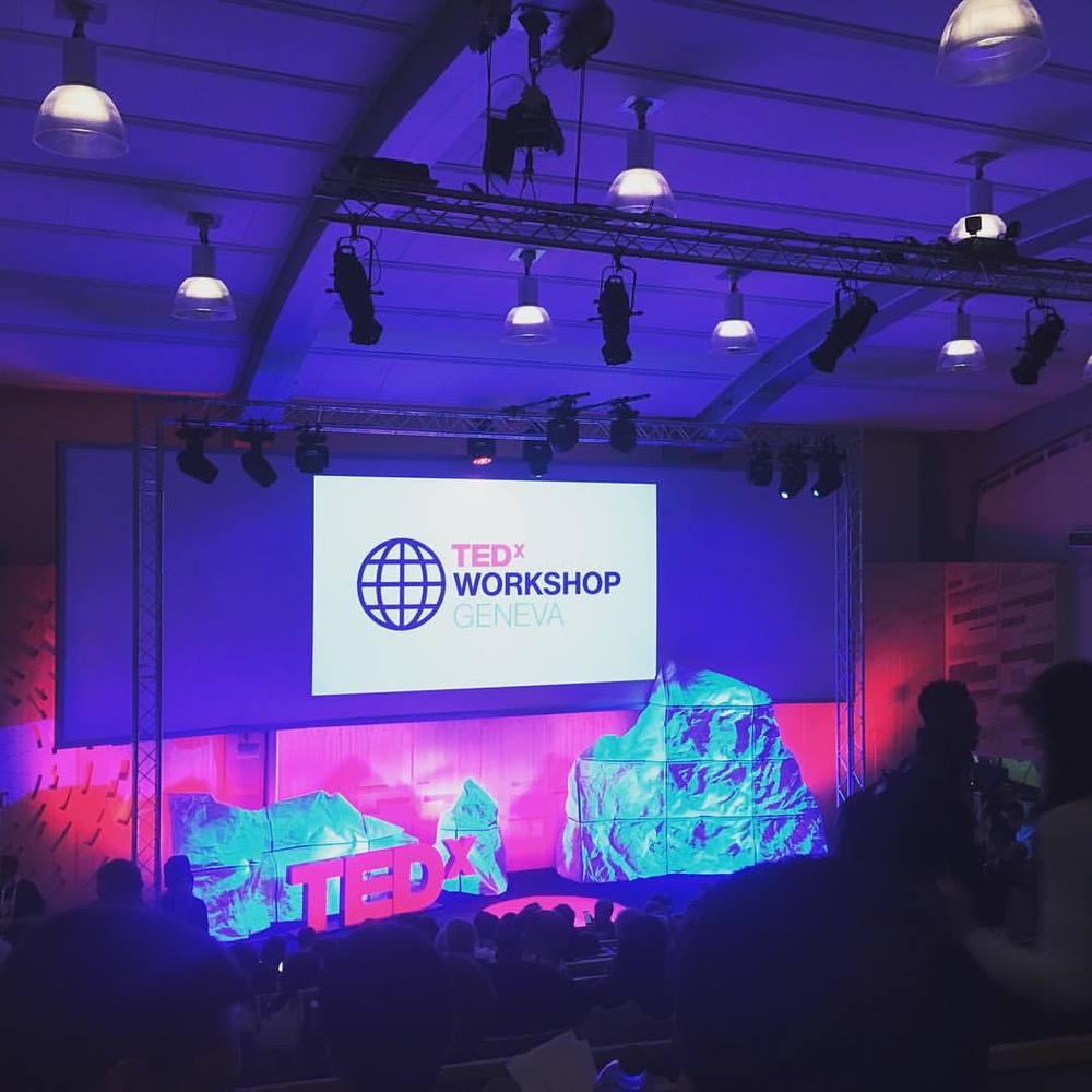 The stunning TEDGlobal stage at CERN
