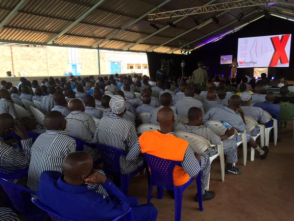 TEDx event at a Nairobi prison