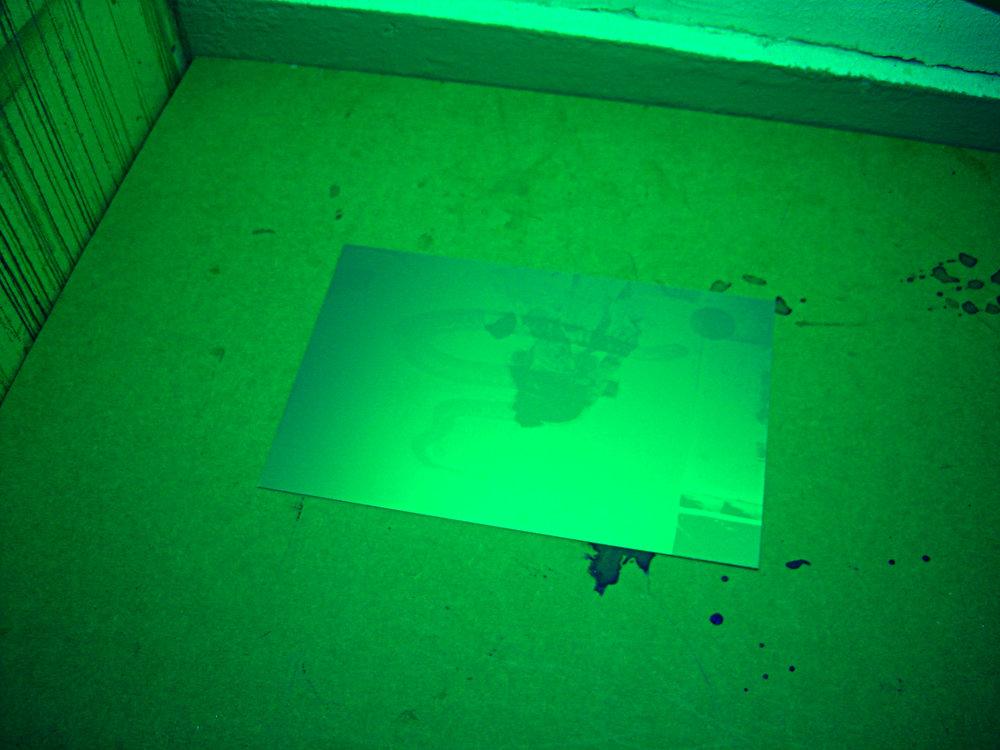 I processen av att göra fotopolymer. Visar senare när vi tryckt klart! DET BLIR SÅ FINT