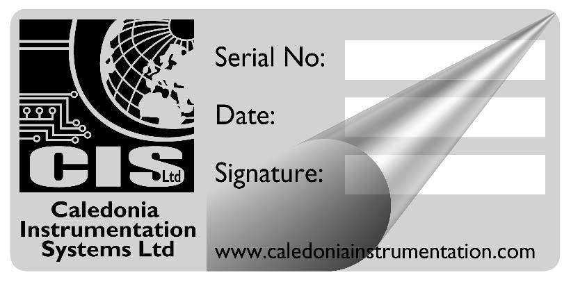 Caledonia Instrumentation