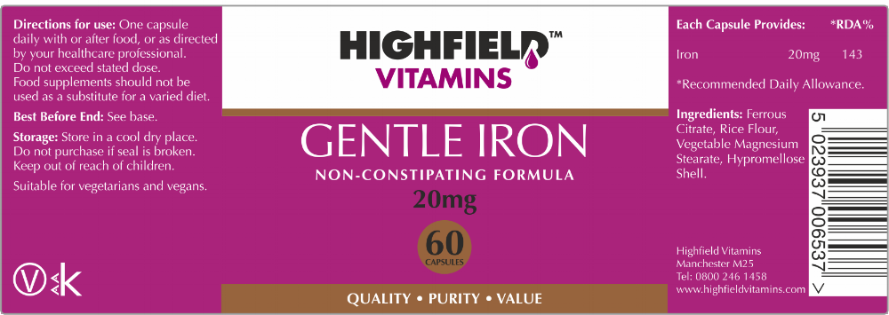 Highfield Vitamins