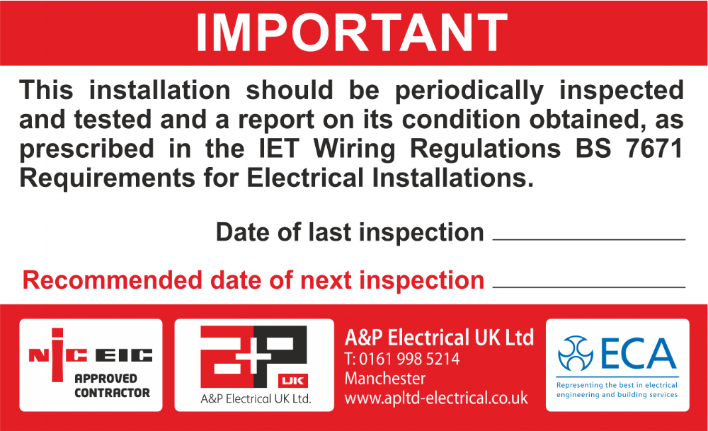A & P Electrical (UK) Ltd