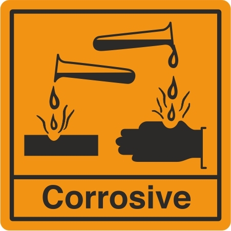 Corrosive Labels