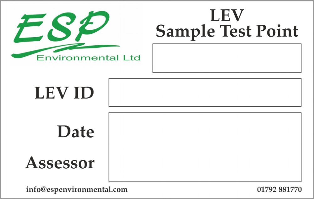 ESP Environmental Labels