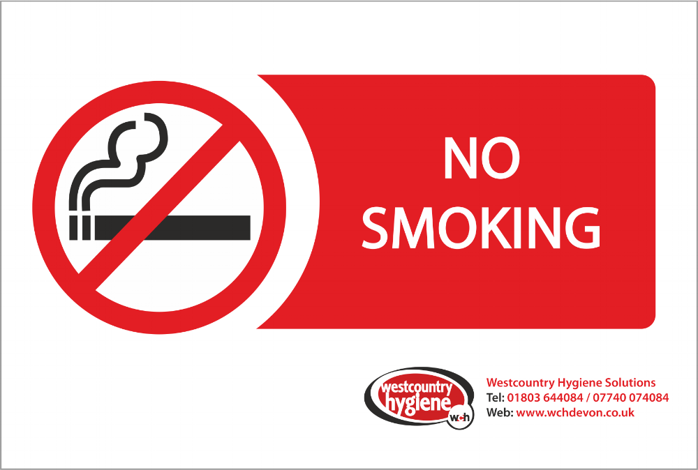 No Smoking Labels & Stickers