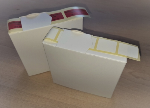 Charity Club Label Dispenser Box