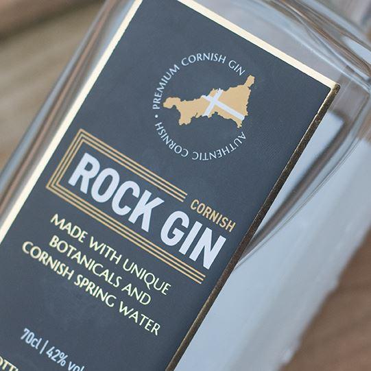 Rock Gin Label