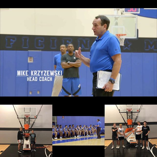 Listen to legendary iconic Coach K @dukembb share a very powerful message he gave to Kobe with his team this summer about loving the gym and many other words of wisdom!  Check out how locked in and focused Zion, Cam and others were when he spoke.  Click on this link to watch: http://www.espn.com/video/clip?id=25126445.  Listen to the entire message.  HOW MUCH DO YOU LOVE THE GAME?  It was great to see a few ballers from North County and East County come to the Hoopology facility last night to get shots up on the Shooting Machine!  No excuse @hoopologyacademy is your resource.  #hoopology #shootersshoot #alwaysstrivingtobebetter #neversatisfied #shotsup #shootinglab #sandiegobasketball #ballislife🏀 #reps #buildconfidence #noexcuses #noregrets