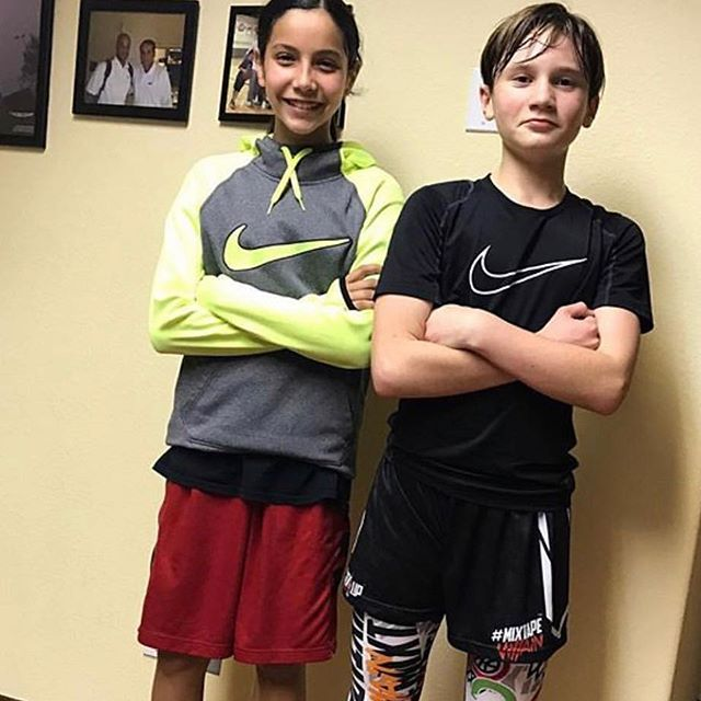 Can't believe these 2 were introduced to #hoopology almost 2 years ago! Just wait and watch @lockupgear and Izzy get it done in their freshman high school campaign! #tbt #hoopologyacademy #shotsup #sandiegobasketball #shootersshoot #ballislife #shothunters #timetogetitdone #ballers #proudofyou