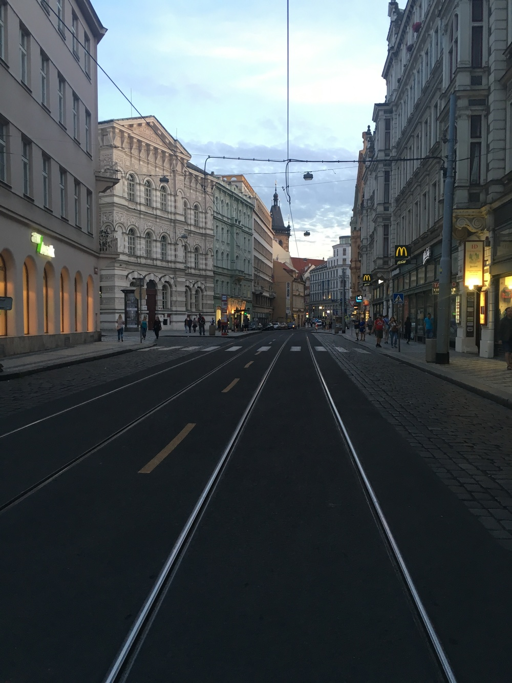 Vodickova Street, Prague.