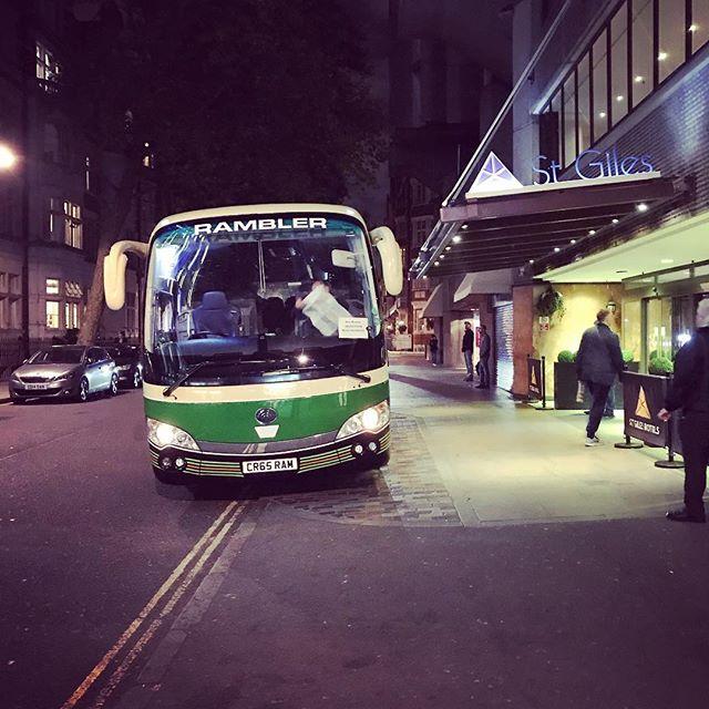 #unusual #60s #looking #modern #bus  in #london .