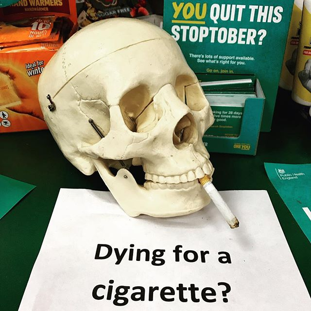 I #hope #many of #those #trying to #quit #smoking have #achieve #stoptober for #health and #life .