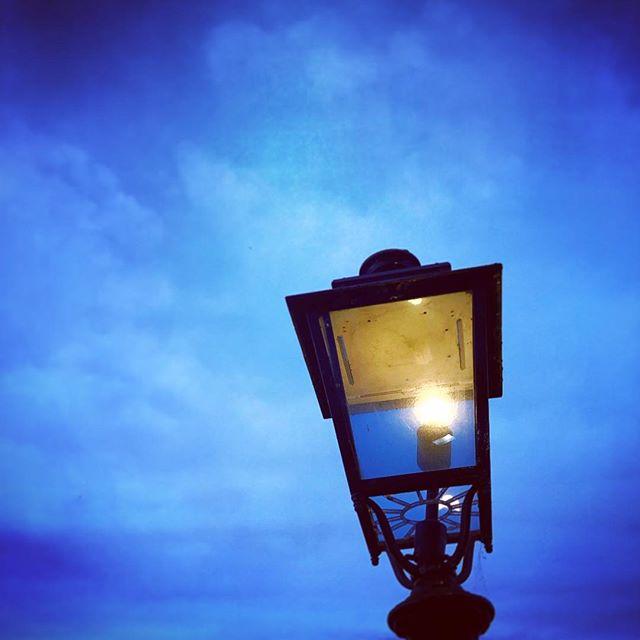 #blue #sky #light #street #lantern #scunthorpe @sunny_scunny #instagood