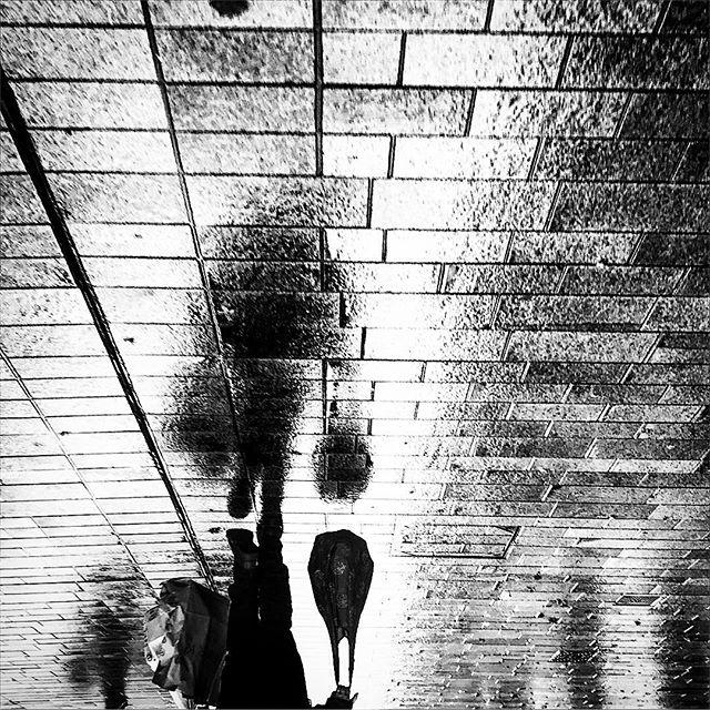 #Hull #monochrome #mono #black #white #street #reflection #soft #sorrow #shopping #fade #dissolve #dream #instagood