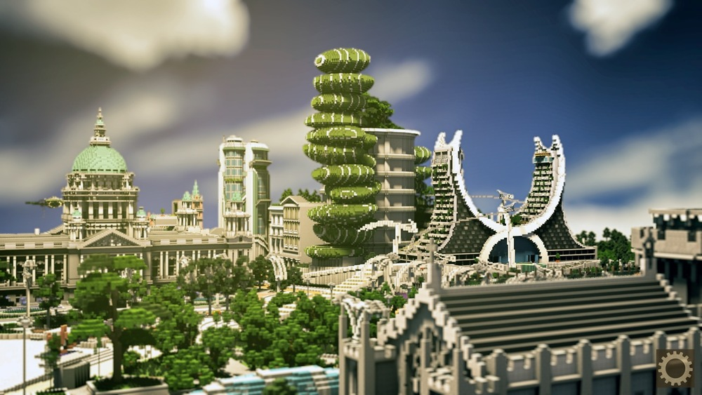 Click on the image to download Urban City 2066 World. Compatibile with Minecraft 1.8 ONLY.