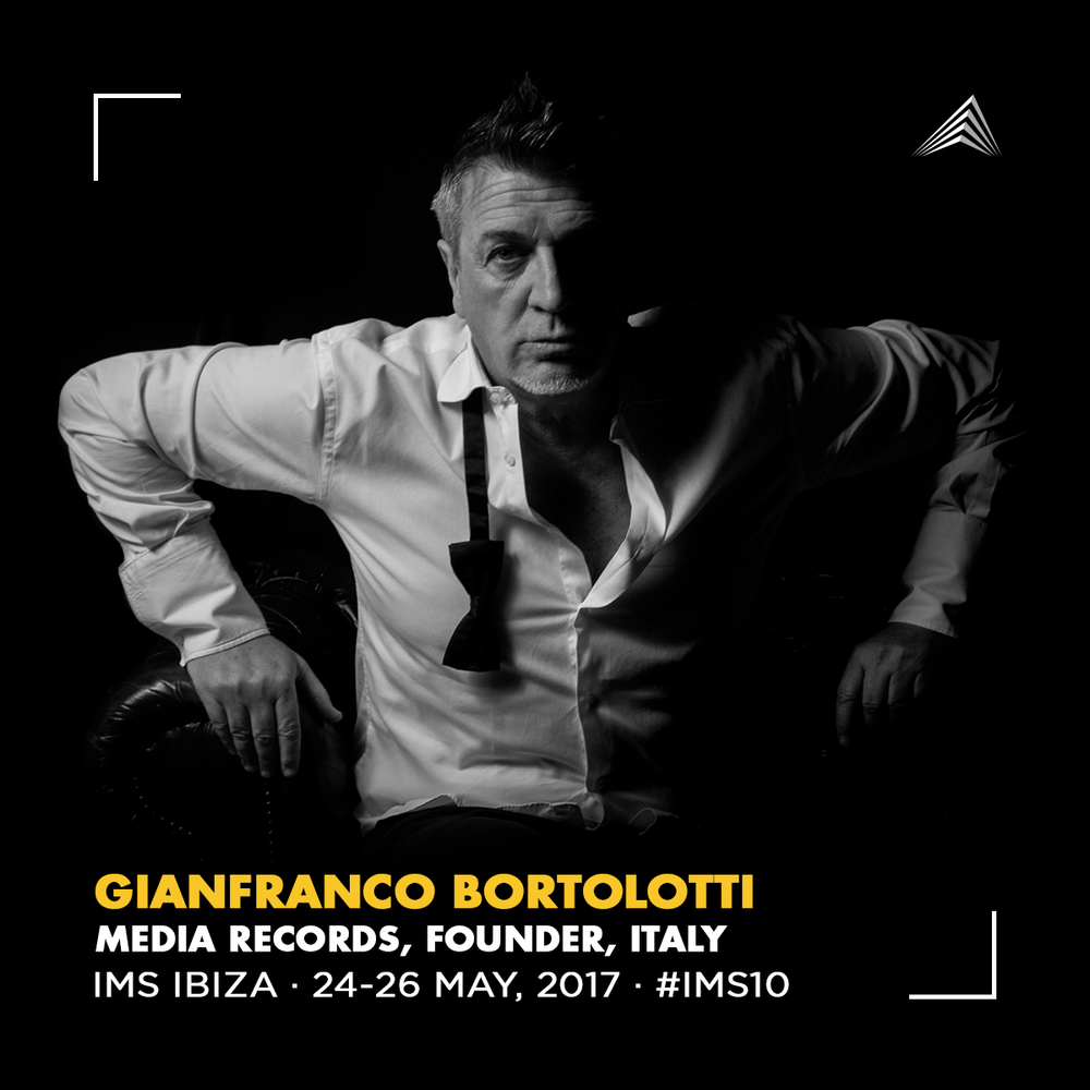 industry focussed project development - the legendary gianfranco bortolotti invited by IMS ibiza to discuss his 30 years in dance music