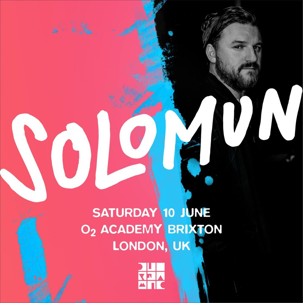 large scale event pr & marketing - solomun at o2 academy london