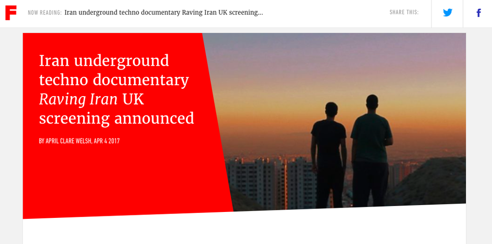 event news announcements - fact mag feature raving iran's london screening