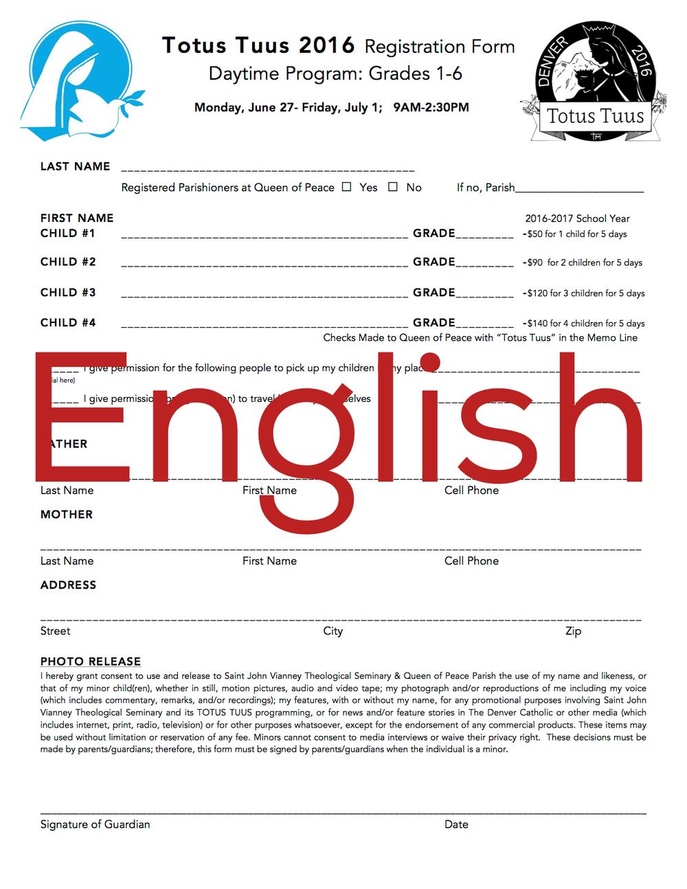 TT English