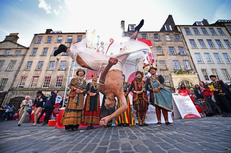 Street Performers, Edinburgh