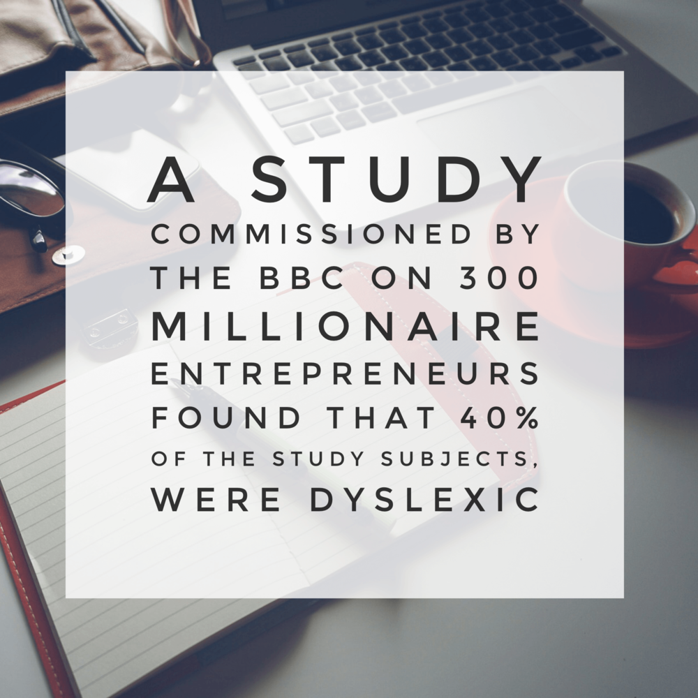 Infographic | Link between dyslexia and entrepreneurs