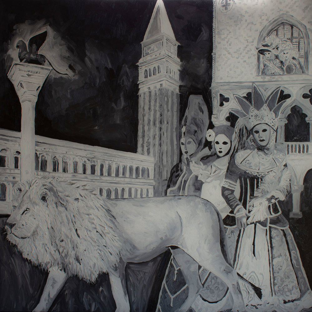 'EXHIBITION OF A LION AT VENICE'