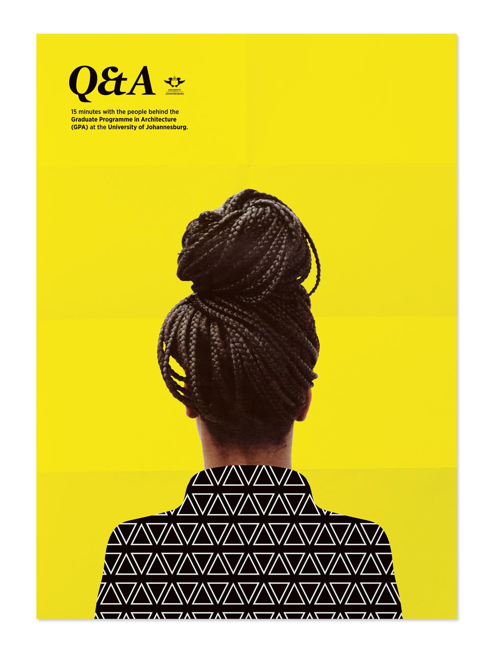 Poster design johannesburg - Client University Of Johannesburg