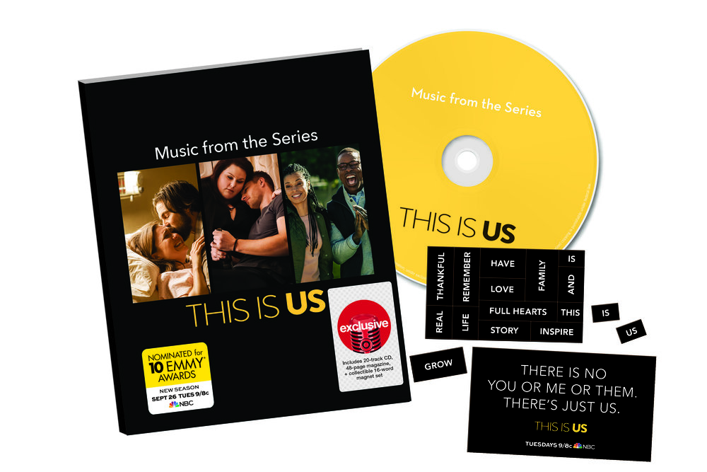 Music from the Series, This Is Us, Deluxe package available at Target