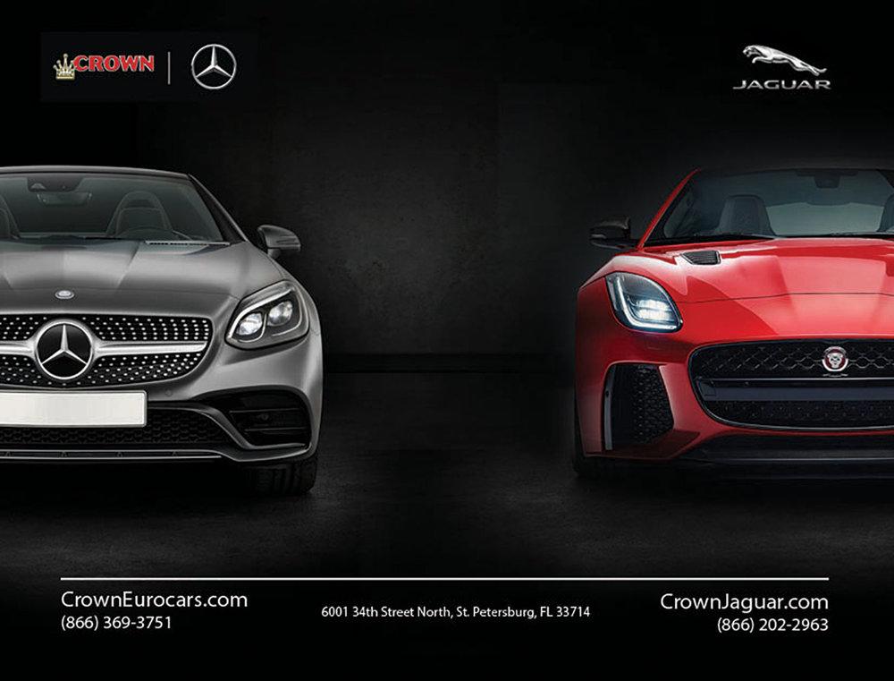 Crown Eurocars Print Ad