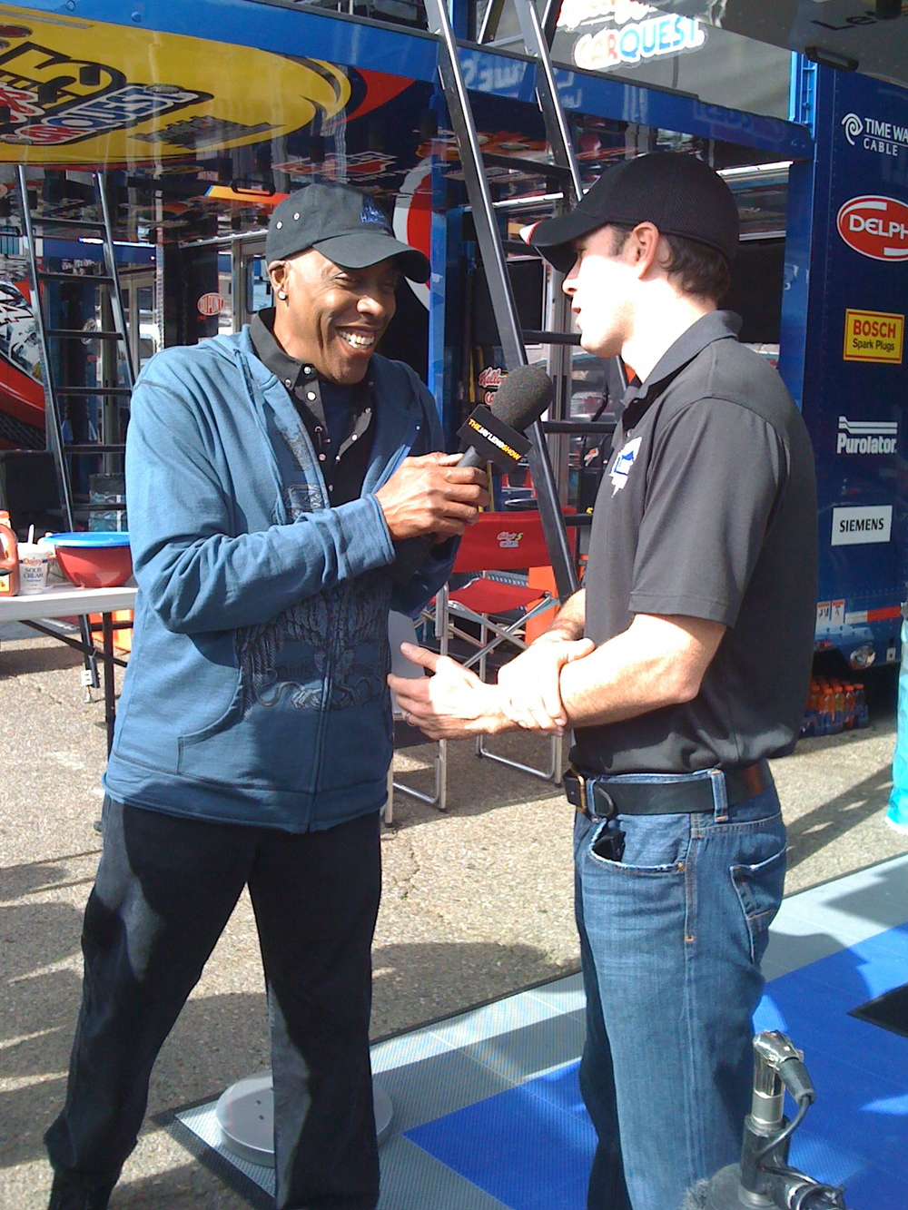 Arsenio for NASCAR on The Tonight Show