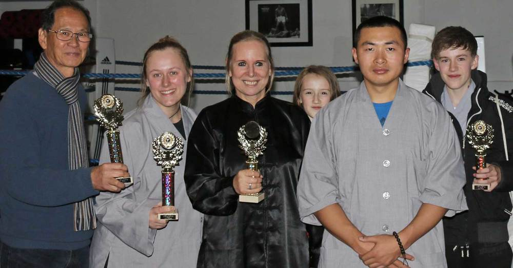 Shifu Yang and Shifu Sandra Gold Medals Competition UK