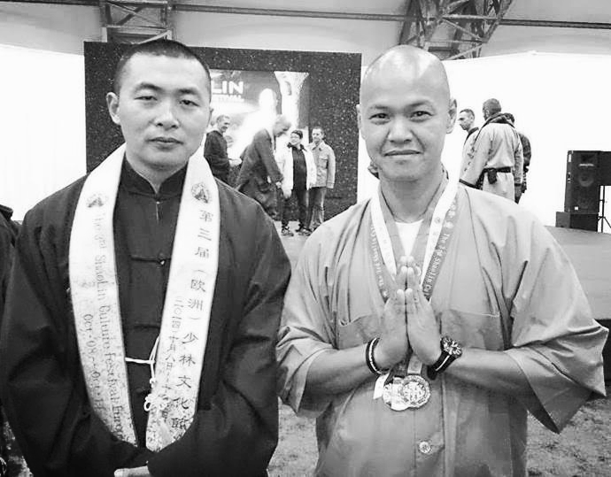 Shifu Yang and Shifu Heng Ren Shaolin Culture