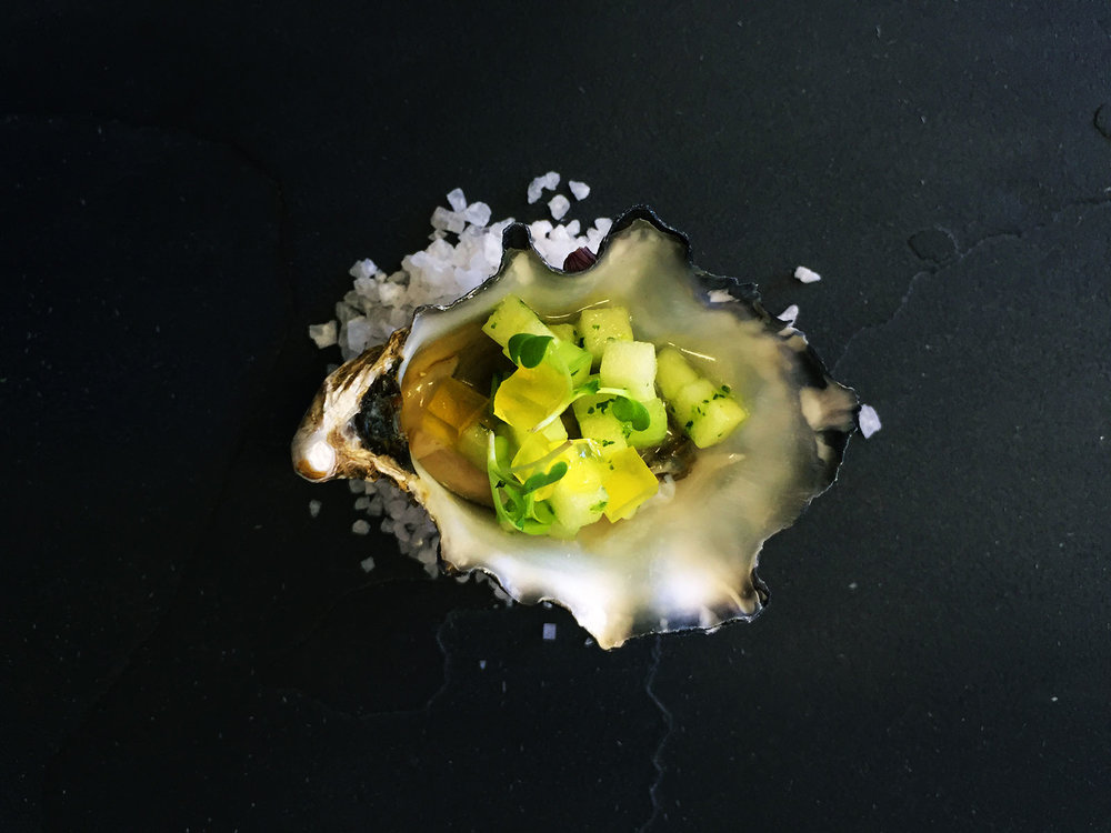 Oyster-with-apple,-cucumber-&-coriander-salsa-with-citrus-jelly-.jpg