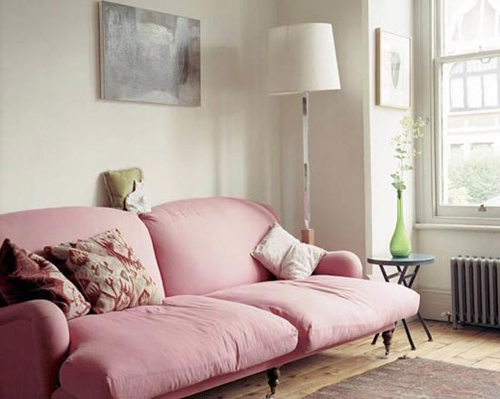 ... Of A Room With A Pink Sofa And It Always Draws Me In. I Like The  Boldness Of It, The Flirtiness Of It. So Why Not Celebrate It? Itu0027s Friday  Afterall.