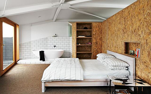 ... A Central Design Element Of The Bedroom, Without Door Or Separation. I  Always Loved The Idea And Itu0027s Cool To See It Catching On In Residential  Homes.