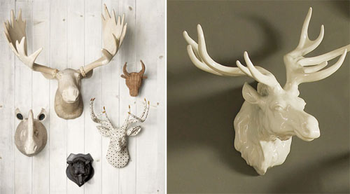 Grouping Any One Thing Together Is Always A Great Design Trick And It Works  Well For These Five Animal Heads. I Love The Myriad Of Textures And ...