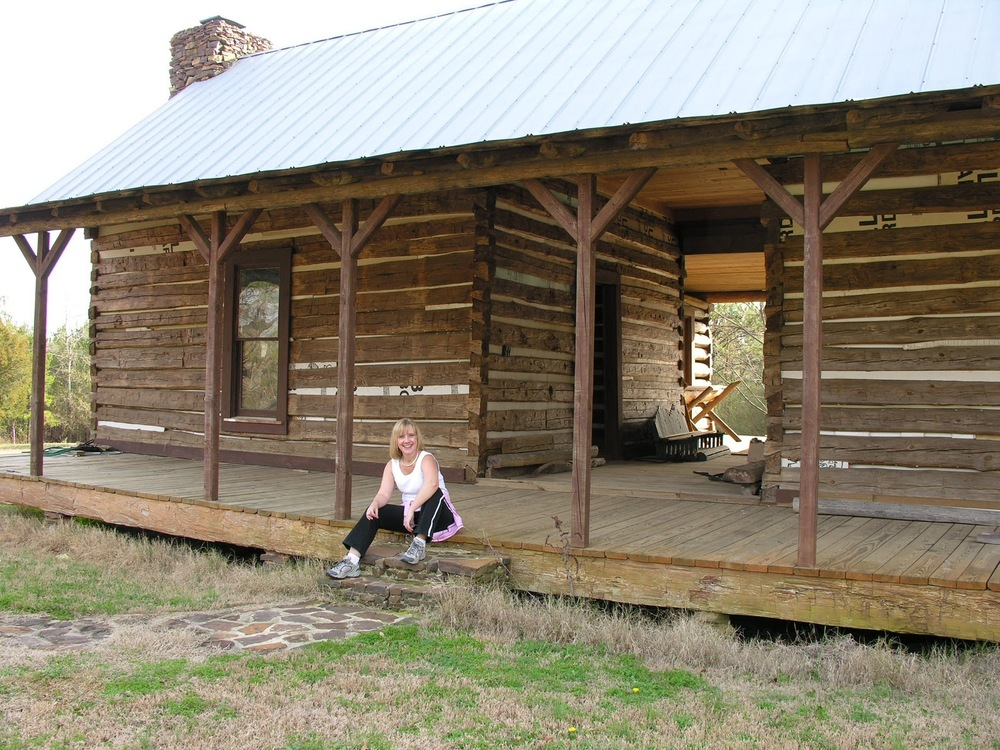Southern architecture the dogtrot house sweet peach for Log cabin plans texas