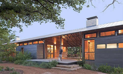 Southern Architecture  The Dogtrot House   Sweet PeachThe fun part are all the modern dogtrots that have arisen in the st century  Replacing logs for lighter  more aesthetically pleasing materials