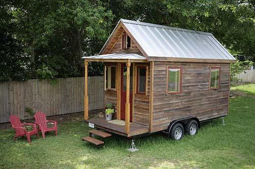the tiny house — sweet peach