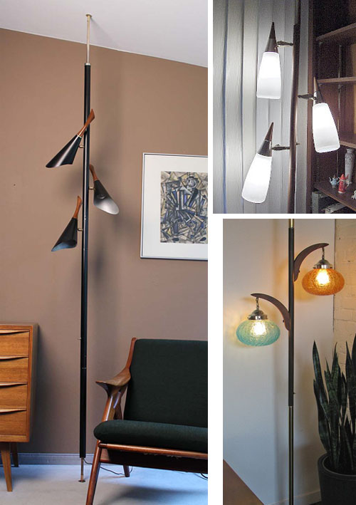 Amazing There Are A Ton Of Great Features To A Tension Pole Lamp (made In The 60u0027s  And 70u0027s). First, They Are Spring Loaded And Adjustable To Your Ceiling  Height, ...