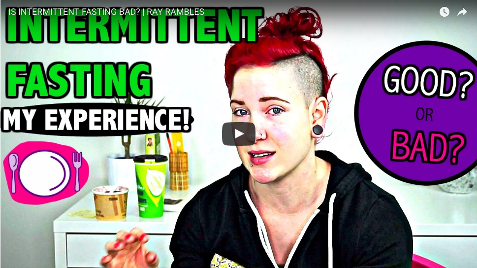 IS INTERMITTENT FASTING BAD? | RAY RAMBLES