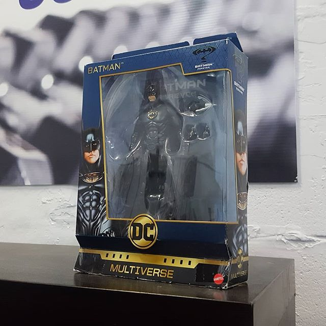 How to give gifts to Derek guide:  1. Make sure it's related to Batman. 2. End of guide.  Thanks to @mewhilb4 and @jbehilborn for the awesome gift. I believe we have the starting of a Batman shelf at Destination:Change!
