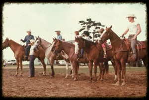 HORSEBACK RIDE READY TO HIT THE TRAIL IN THE 1960's!